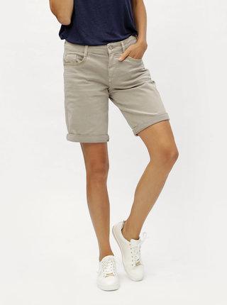 Pantaloni de dama scurti maro s.Oliver