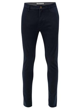 Pantaloni albastru inchis skinny chino Burton Menswear London