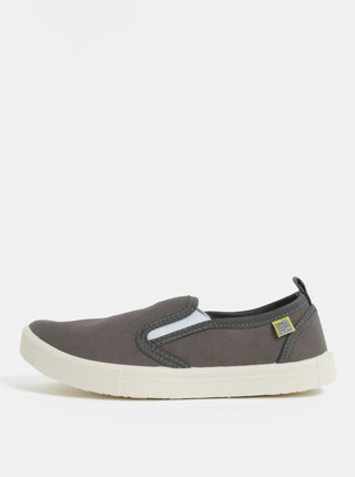 Pantofi slip on gri inchis Oldcom Milan
