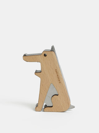 Otvárač na fľaše v tvare psa Kikkerland