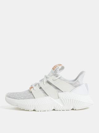 Sivo-biele dámske tenisky adidas Originals PROPHERE