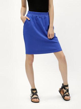 Modrá basic sukně Moss Copenhagen