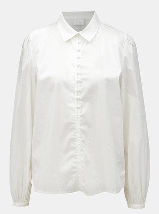 Biela košeľa VILA Placket