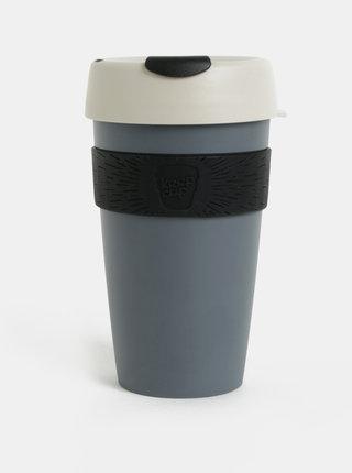 Tmavě šedý cestovní hrnek KeepCup Original Large