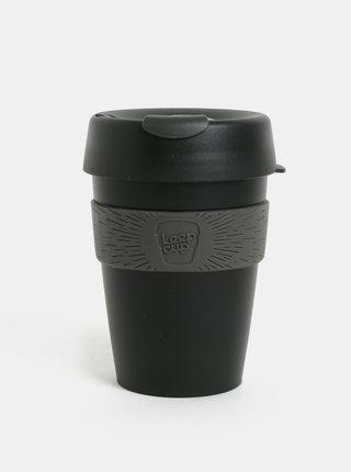 Sivo-čierny cestovný hrnček KeepCup Original Medium