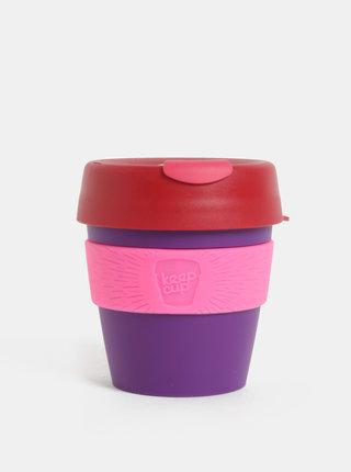 Červeno-fialový cestovný hrnček KeepCup Original Small