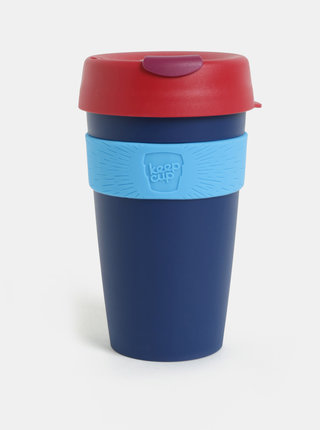 Červeno-modrý cestovný hrnček KeepCup Original Large
