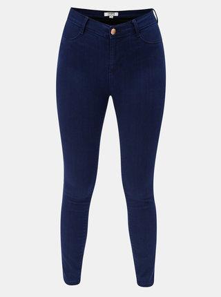 Blugi albastru inchis super skinny din denim Dorothy Perkins Frankie
