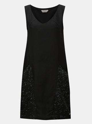 Čierne šaty s vreckami SKFK Adi