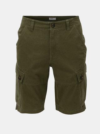 Pantaloni scurti kaki cu buzunare pe picioare Burton Menswear London