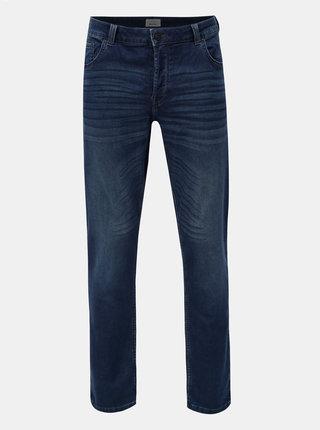 Blugi albastru inchis slim fit din denim ONLY & SONS Loom