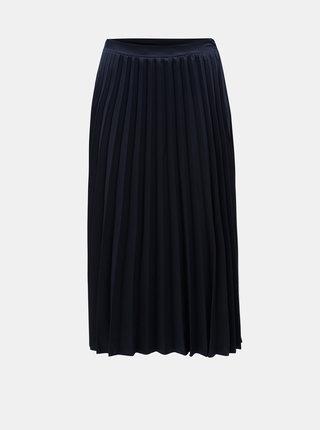 Tmavomodrá plisovaná sukňa ZOOT