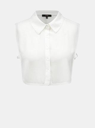 Bílá košilová vsadka Yest