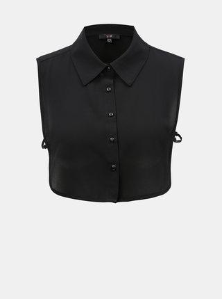 Čierna košeľová vsadka Yest