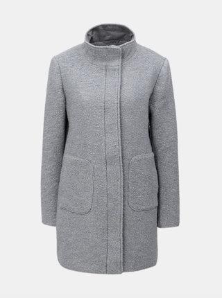 Svetlosivý vlnený kabát Yest