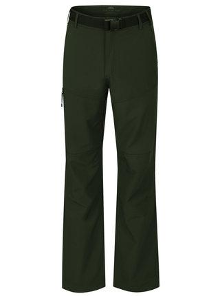 Tmavozelené pánske funkčné vodovzdorné nohavice LOAP Udon
