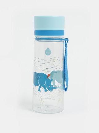 Plastová fľaša s motívom nosorožcov EQUA 400 ml