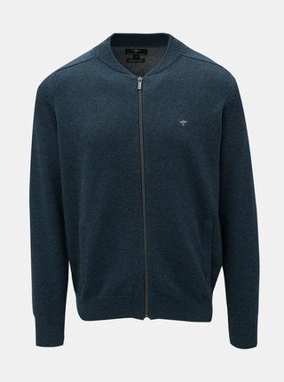 Cardigan albastru cu buzunare Fynch-Hatton