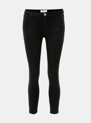 Čierne skinny rifle Dorothy Perkins Petite Ashley