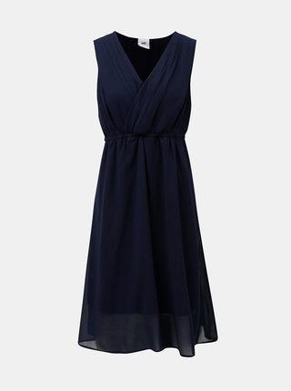 Tmavomodré šaty na kojenie Mama.licious Yolanda