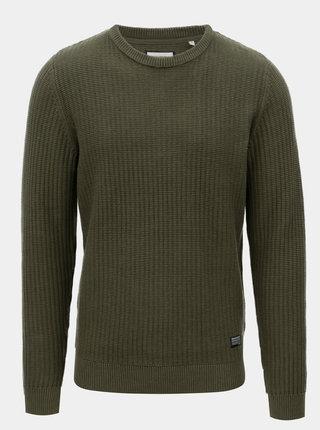 Zelený bavlnený sveter Shine Original