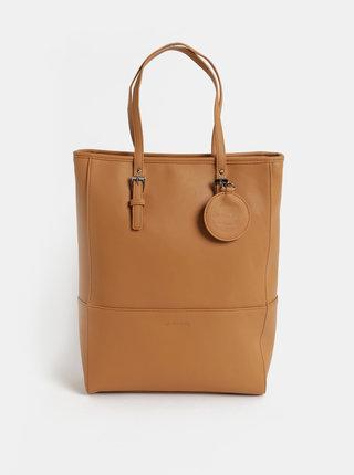 Hnedá veľká kabelka Meatfly
