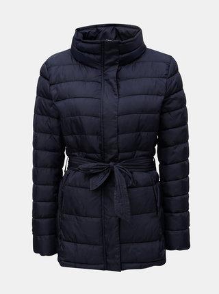 Tmavomodrá zimná prešívaná bunda Jacqueline de Yong Harper