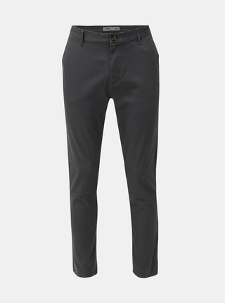 Pantaloni gri slim fit Burton Menswear London