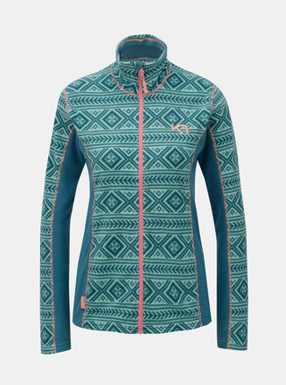 Bluza sport verde din fleece Kari Traa