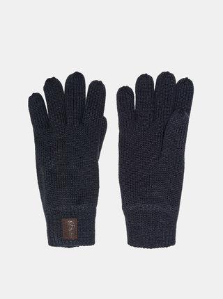 Tmavě modré rukavice s nášivkou ONLY & SONS Clas