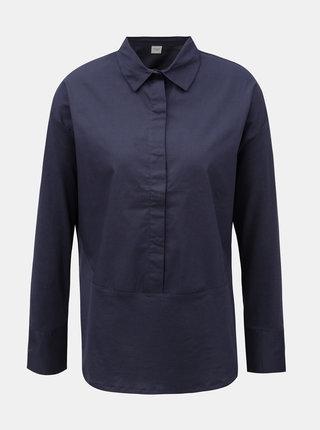 Tmavě modrá košile Jacqueline de Yong Lima