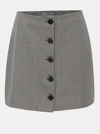 Sivá vzorovaná sukňa Dorothy Perkins Petite