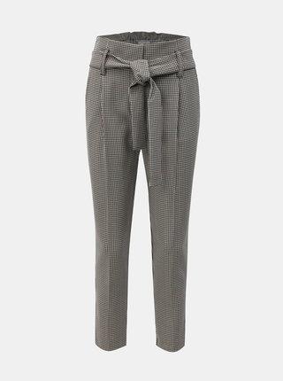 Sivé vzorované nohavice Dorothy Perkins Petite