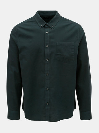 Camasa verde inchis Burton Menswear London