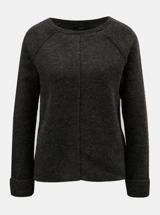 Tmavosivý sveter VERO MODA Ylda