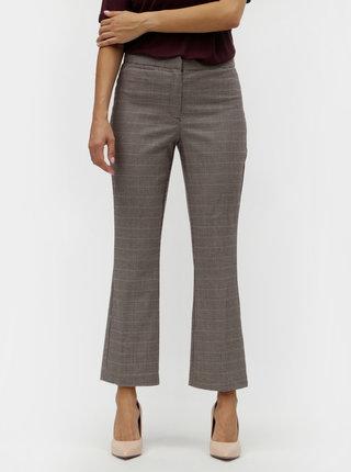 Béžové vzorované kalhoty VILA Olau