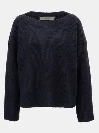 Tmavě modrý basic svetr Jacqueline de Yong Mille