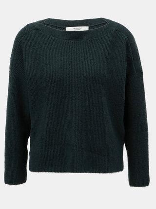 Zelený basic svetr Jacqueline de Yong Mille