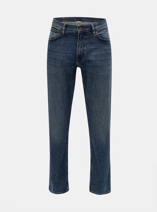 Modré pánské regular fit džíny GANT