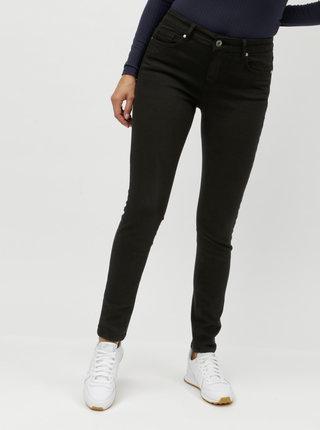 Černé slim džíny Yest