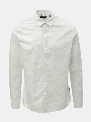 Camasa alba melanj slim fit ONLY & SONS Oneill