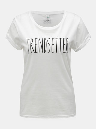 Bílé dámské tričko s potiskem ZOOT Original Trendsetter