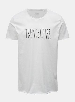 Bílé pánské tričko s potiskem ZOOT Original Trendsetter
