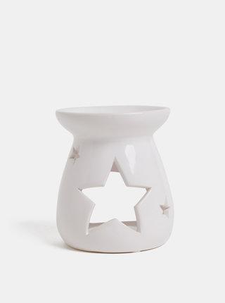 Lampa aromatica alba din ceramica Dakls