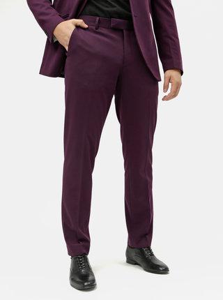Fialové oblekové kalhoty Jack & Jones Steven