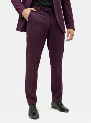 Pantaloni formali mov Jack & Jones Steven