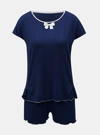 Tmavě modré dvoudílné pyžamo Eldar Barbara