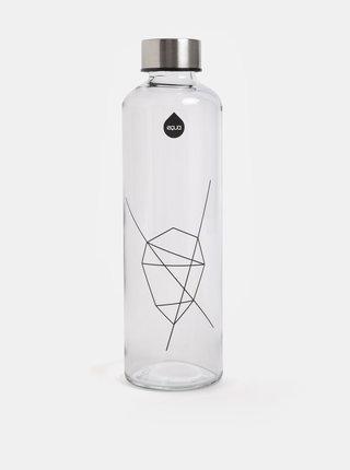 Sticla de apa cu capac argintiu EQUA 750 ml