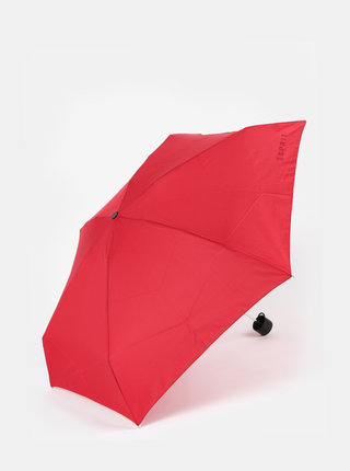 Červený skladací dáždnik Esprit