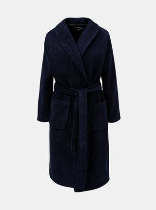 Tmavě modrý dámský župan Calvin Klein Underwear